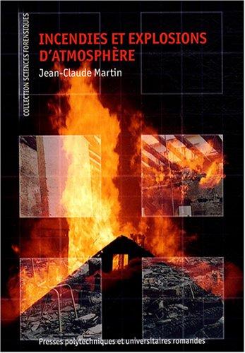 Incendies et explosions d'atmosphère
