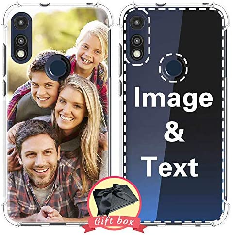 AIPNIS Design Your own Your Moto E 2020 Case Personalized Photo Gift Shock Absorption Soft Clear product image