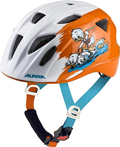 ALPINA Unisex - Kinder, XIMO DISNEY Fahrradhelm, Donald Duck, 45-49 cm