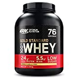Optimum Nutrition Gold Standard Whey Muscle Building and Recovery Protein Powder With Naturally Occurring Glutamine and Amino Acids, French Vanilla Crème, 76 Servings, 2.28 Kg, Packaging May Vary
