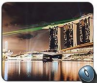 シンガポールはカスタマイズされたマウスパッドの長方形のマウスパッドの賭博のマウスマットをつけます