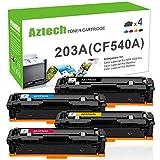 Aztech Kompatibel Toner Cartridge Replacement für HP 203A 203X für HP Color Laserjet Pro MFP M281fdw Toner HP Color Laserjet Pro M254nw M254dw Color Laserjet Pro MFP M281fdn M280nw HP M281 M254 Toner