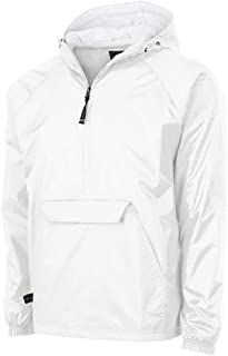 Charles River Apparel Unisex-Adult's Wind & Water-Resistant Pullover Rain Jacket (Reg/Ext Sizes)