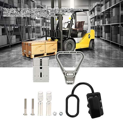 Kit de terminales de conector de cable, hecho de cobre plateado y nylon llama de llama ignífugo de producto de salida de corriente de corriente estándar de tornillo Medimun para Anderson 175A Conector