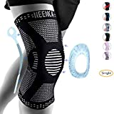 NEENCA Knee Brace for Men,Knee Compression Sleeve Support with Patella Gel Pads & Side Stabilizers,Medical Grade Knee Sleeves for Running,Meniscus Tear,Arthritis,ACL,Joint Pain Relief,Injury Recovery