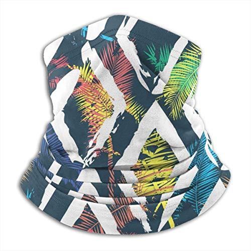 ShiHaiYunBai Tour de Cou Cagoule Microfibre Chapeaux Tube Masque Visage, Neck Warmer,Beautiful Abstract Colorful Reversible Ear Headband Mask Ultimate Thermal Retention Versatility for Men