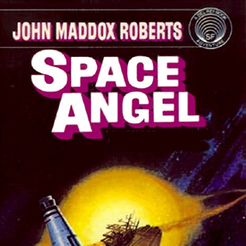 Space Angel audiobook cover art