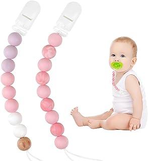 Amazon.es: pink pink - Chupetes y mordedores: Bebé