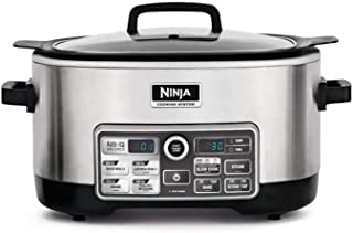 NINJA 4-in-1 Cooking System, 6 Qt (Certified Refurbished) (Stainless Steel)