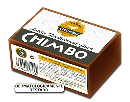 Chimbo Jabon Chimbo Trad R 250 Envuelto 250 g