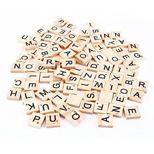 BeatlGem Scrabble Fliesen (100 Brief Fliesen)