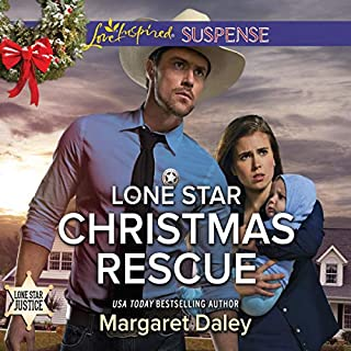 Lone Star Christmas Rescue                   Written by:                                                                                                                                 Margaret Daley                               Narrated by:                                                                                                                                 Coleen Marlo                      Length: 5 hrs and 16 mins     Not rated yet     Overall 0.0