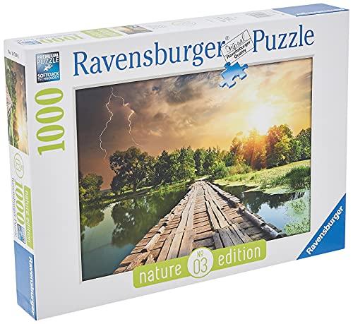 Ravensburger Puzzle Puzzle 1000 Pezzi, Luce Mistica, Puzzle per Adulti, Nature Edition, Puzzle Paesaggi, Puzzle Ravensburger - Stampa di Alta Qualità