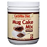 Fits in your Diet: A delicious treat that fits into your low carb and keto diets. Now you can have your cake and eat it too! Ready in Under 90 Seconds: Just add 2 tsp melted butter, 4 tsp water and 2 scoops of CarbRite Mug Cake Mix and stir. Microwav...