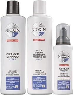 Kit Nioxin System 6 Shampoo 300ml + Condicionador 300ml + Leave-in 100ml