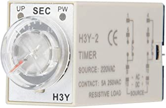 Zerone H3Y-2 Power On Time Relay Pointer Control Delay Timer 8-Pin 12VDC