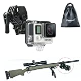 Universal Camera Clamp Mount Set, Oumers Fixing Clip Mount Kit for Fishing Rod/Bow Fixing Clip, for...