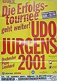 Udo Jürgens 2001 Konzert-Poster A1
