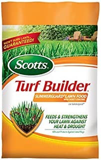 Scotts Turf Builder Lawn Food - Summerguard with Insect Control, 15,000-sq ft (Lawn Fertilizer plus Insect Control) (Not Sold in Pinellas County, FL)