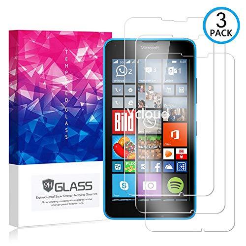 Ycloud [3 Pack] Bildschirmschutzfolie für Microsoft Lumia 640 XL Dual-SIM, Staubdichter, kratzfester Bildschirmschutz für Microsoft Lumia 640 XL Dual-SIM