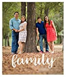 Collage.com Custom Photo Blankets   Personalized Family Blanket   Add Your Own Photo   Printed in The USA (50x60 Woven)