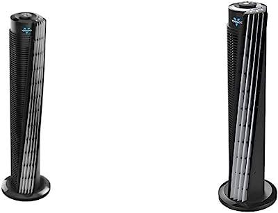 "Vornado 184 Whole Room Air Circulator Tower Fan, 41"", 184-41"", Black & 143 Whole Room Air Circulator Tower Fan, 29"""