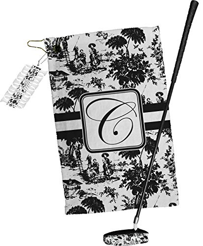 Read About YouCustomizeIt Toile Golf Towel Gift Set (Personalized)