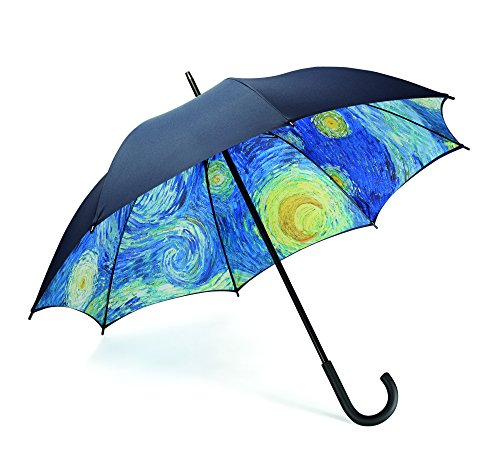 MoMA paraplu Starry Night paraplu, polyester, Ø 102cm