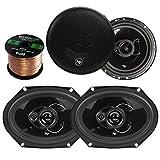 "Best 6x9 Car Speakers For Basses - Audiopipe 6X8"" 6.5"" Car Speakers Pair, Enrock 16 Review"