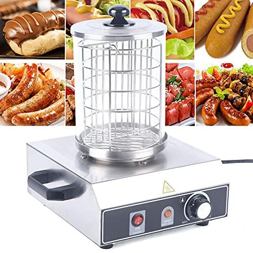 Máquina para hacer hot dog profesional de acero inoxidable para restaurantes o fiestas de familia