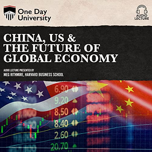 Couverture de China, US & the Future of Global Economy