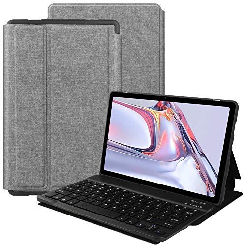 VOVIPO Tastiera Custodia per Galaxy Tab A7 10.4 2020, Layout Italiano Pelle PU Custodia con Rimovibile Wireless Keyboard Tastiera per Galaxy Tab A7 10.4 2020 (SM-T500 T507)