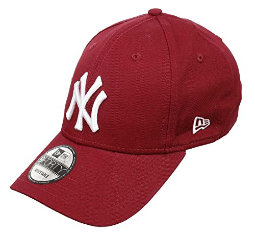 New Era New York Yankees League Essential Cardinal 9Forty Cap - One-Size