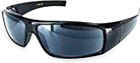 Boomer Eyeware Classic Wrap Around Designer Reading Sunglasses for Men & Women, 3.00, Black