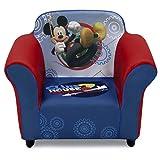 Delta Children Plastic Frame Upholstered Chair, Disney Mickey Mouse