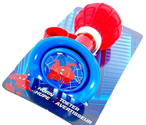 Spider-Man Bocina de bicicleta timbre campana de bici para niños