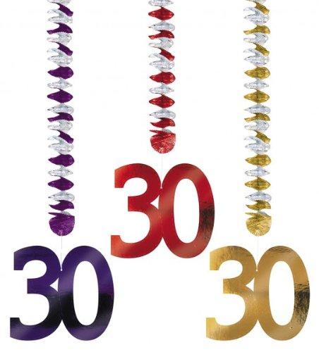 Guirlande Verticale 30 ans (x3)