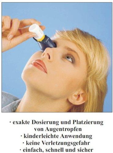 Autodrop® Augentropfen - Anwendungshilfe | Augentropfenspender | Applikationshilfe