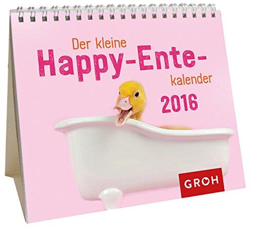 Der kleine Happy-Ente-Kalender 2016: Mini-Kalender