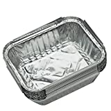 <span class='highlight'>Disposable</span> <span class='highlight'>BBQ</span> Drip Pans Aluminum Foil Grease Drip Pans Recyclable Grill Catch Tray for Outdoor Supplies,20pcs