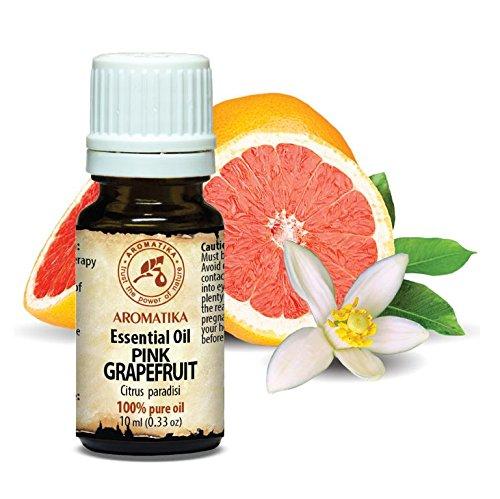 Grapefruit Öl Ätherisches 10ml - Citrus Paradisi - Südafrika - 100% Reine & Natürliche Pink Grapefruitöl für Guten Schlaf - Beauty - Wellness - Schönheit - Aromatherapie - Entspannung - Spa - Aroma Diffuser - Duftlampe - Raumbeduftung - Aroma