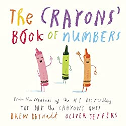 the crayons' book of numbers - teaching numbers book