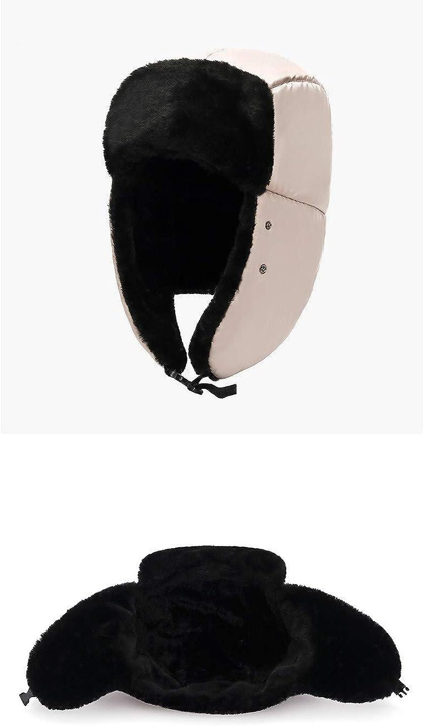 FISHSHOP Winter Trooper Hut,Unisex Winter Winddicht Warm Hat Fellm/ütze Kunstfellm/ütze ,Schlittschuhlaufen und Anderen Outdoor-Aktivit/äten erh/ältlich