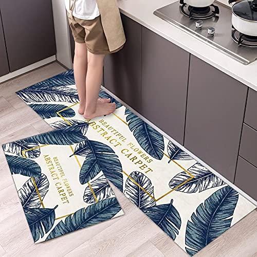 HLXX Alfombrilla de Cocina Impresa Felpudo de Entrada de Dibujos Animados Alfombras de Dormitorio Junto a la Cama Alfombras de Sala de Estar Balcón Baño Alfombras Lavables A2 40x60cm