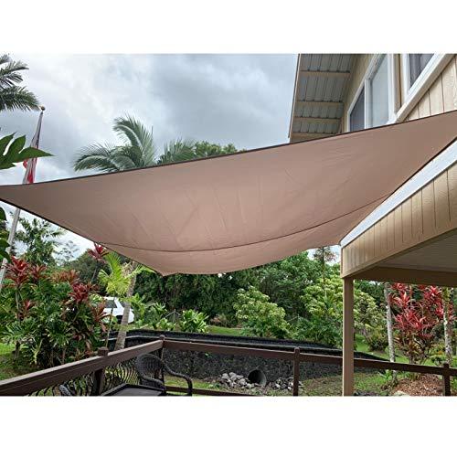 OZYN Rechteck Wasserdicht Sonnensegel Sonnenschutz, UV-Block Sonnenschutz Markisenüberdachung Zum Draussen Terrasse Garten (Size : 2x1.8m)