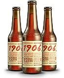 1906 reserva especial cerveza - pack de 24 botellas x 330 ml - total: 7. 92 l