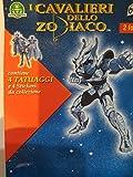 I Cavalieri del Zodiaco 4 Tatuajes 4 Stickers de colección Giochi Preziosi