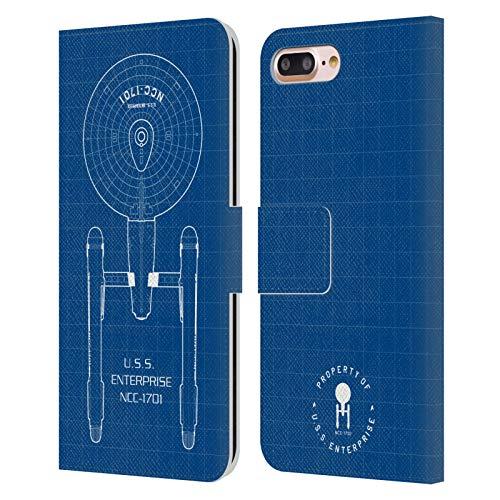 Head Case Designs Licenciado Oficialmente Star Trek USS Enterprise NCC-1701 Adaptador de...