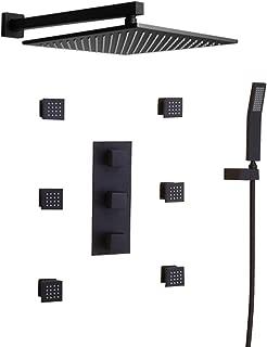 JiaYouJia Wall Mounted Rain Shower System 12