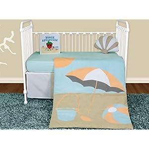 5135G657cJL._SS300_ Nautical Crib Bedding & Beach Crib Bedding Sets